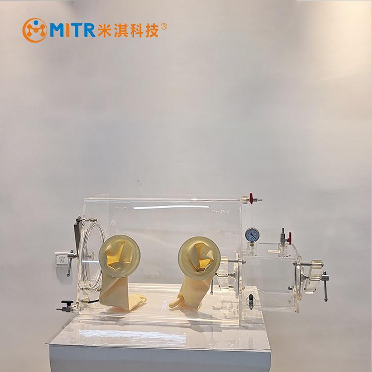 有机玻璃简易手套箱MT011-B(实验单人防尘简易类)